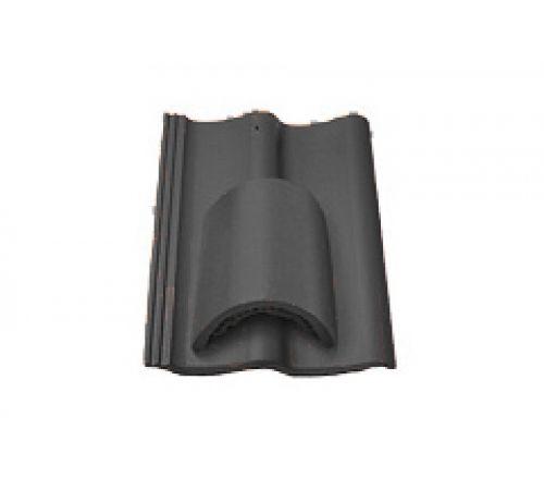 Вентиляционная черепица черный 020