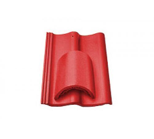 Вентиляционная черепица красный 026
