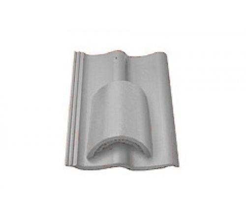 Вентиляционная черепица серый 037