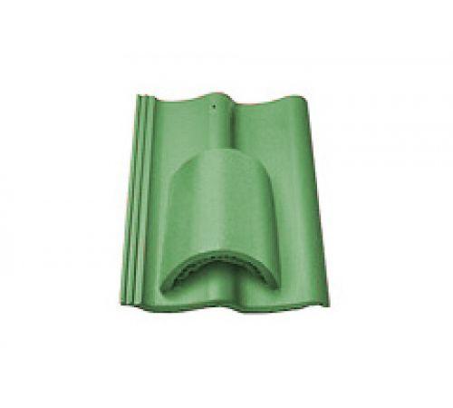 Вентиляционная черепица зеленый 023