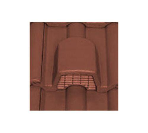 Вентиляционная чер. Опал матовый т-коричневый  BRAAS