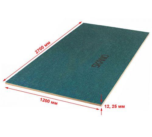 Скандинавская ветрозащитная плита ISOPLAAT 2700х1200х25 (класс Q1 240-270 кг/м³) плита