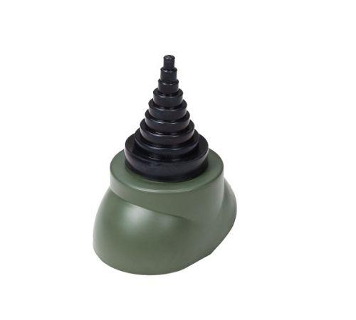 Воротник антенны зеленый (D-12-90мм )