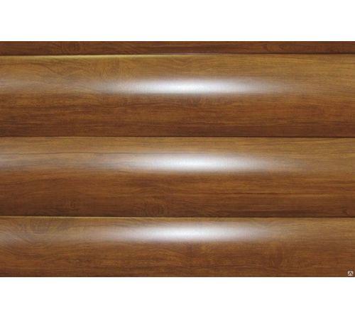 Сайдинг WOODSTOCK-28х330 Ecosteel-0,5,текстурированный, Мореный дуб