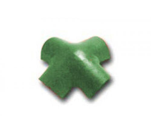 Х-образная черепица зеленый 023