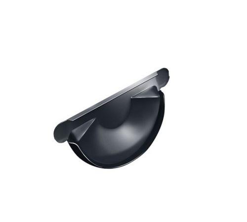 Заглушка желоба универс. GrandLine (125/90), цвет-7024